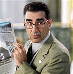 Eugene Levy/The Man Interview by Paul Fischer in Los Angeles