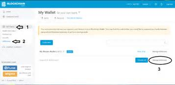 So i see imported addresses and decide to transfer my bitcoins to my bitcoin wallet. How to Sign Message your Bitcoin Address and Verify it (Blockchain Web Wallet) • Newbium