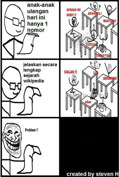 Meme And Rage Comic Indonesia - meme comic indonesia meme rage face 7