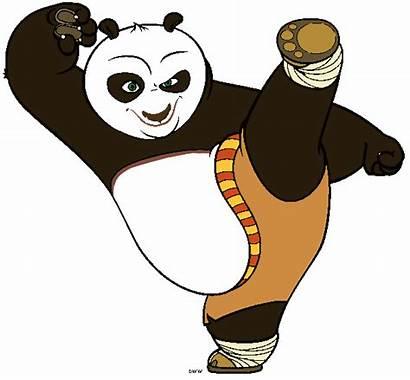 Fu Panda Kung Clipart Clip Cartoon Cliparts