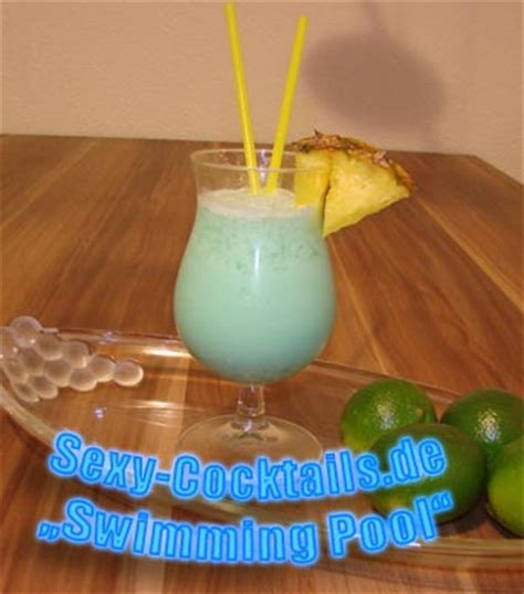 swimming pool cocktail rezept sexy cocktailsde