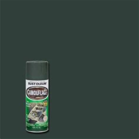 rust oleum specialty  oz deep forest green camouflage