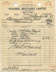 handwritten and typewritten invoices old school With handwritten invoice template
