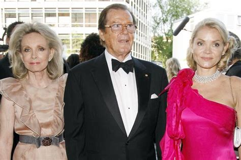 roger moore kiki tholstrup devoted roger moore moved in with stepdaughter during