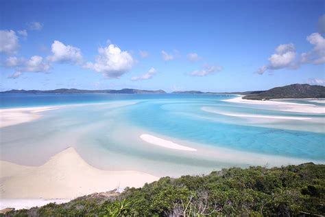 Glass Bottom Boat Whitsunday Islands by Panorama Tour To Whitehaven And The Great Barrier Reef