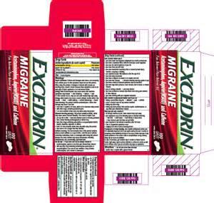 Excedrin Migraine Ingredients