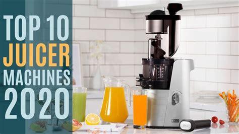juicer juicers cold press extractor machine masticating slow