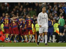 Barcelona vs Real Madrid not available on British TV due