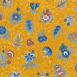 Serviette Table Tissu : serviette de table tissu proven al moutarde motif floral ~ Teatrodelosmanantiales.com Idées de Décoration
