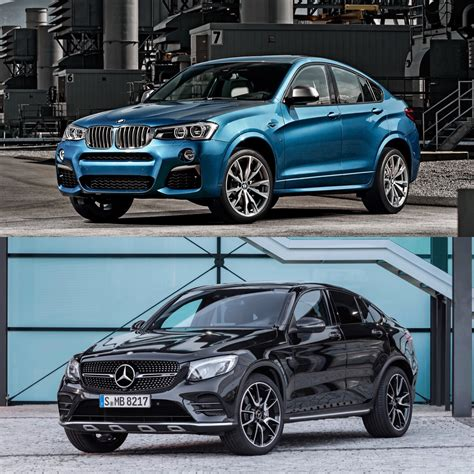 Photo Comparison Bmw X4 M40i Vs Mercedesamg Glc43 Coupe