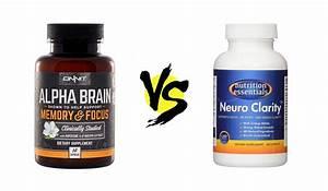 Neuro Clarity Vs  Alpha Brain
