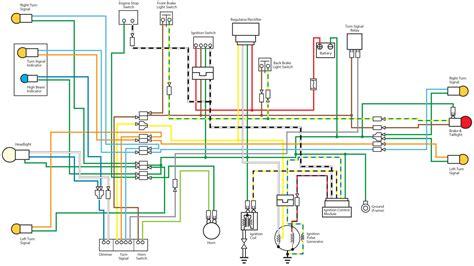 honda xr 125 wiring diagram dejual