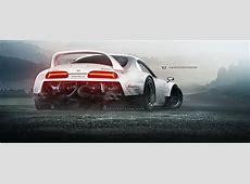 RearEngined Toyota Supra Has TwinTurbo Lamborghini V10