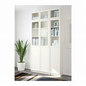 Ikea Bibliothèque Blanche : billy oxberg bookcase white glass pinterest biblioth que blanche verre et ikea tablette ~ Teatrodelosmanantiales.com Idées de Décoration