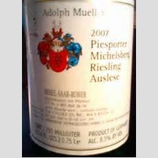 2005 Adolph Müller Piesporter Michelsberg Riesling Auslese