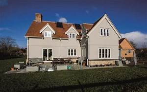 Ufh And Air Source Heat Pump For A Timber Frame Home