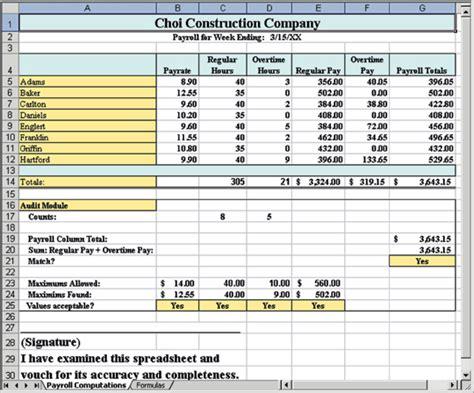 ferret  spreadsheet errors