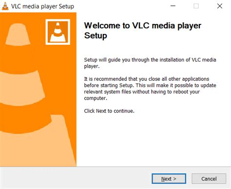 how to update vlc media player to the version