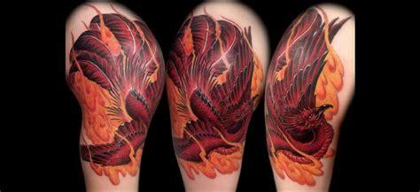tatouage phoenix quand le tatouage renait de ses cendres