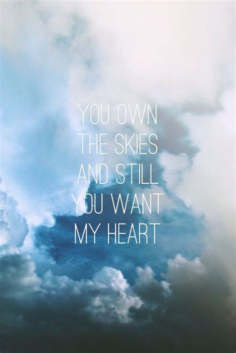 blue skies love quotes quotesgram