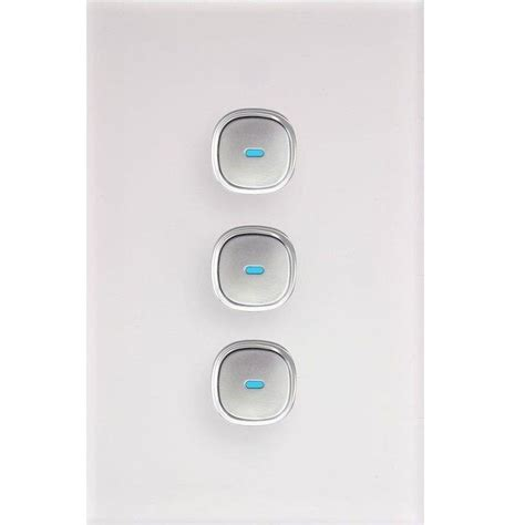 push button light switch new opal push button touch led saturn light switch power