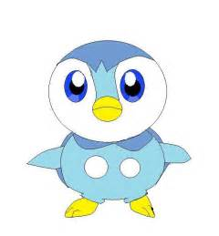 Pokemon Character Piplup
