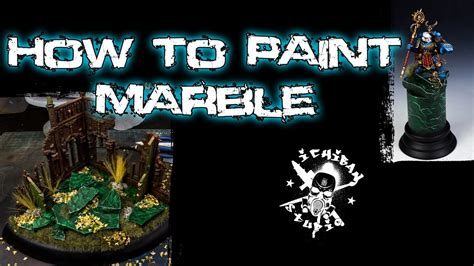 How To Paint Green Marble Youtube