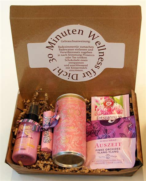 kleine geschenke für freunde 30 minuten wellness geschenke geburtstag wellness geschenke diy geschenke und geschenke