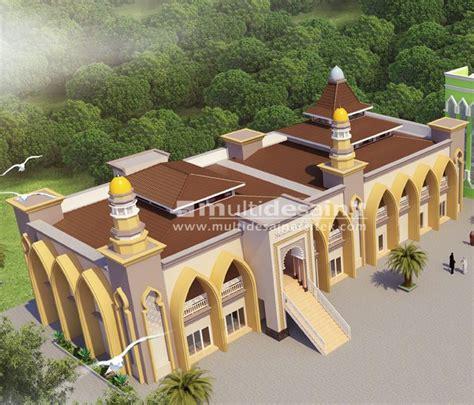 masjid putri ngabar multidesain arsitek