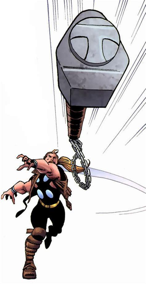 thunderstrike marvel comics thor avengers ally