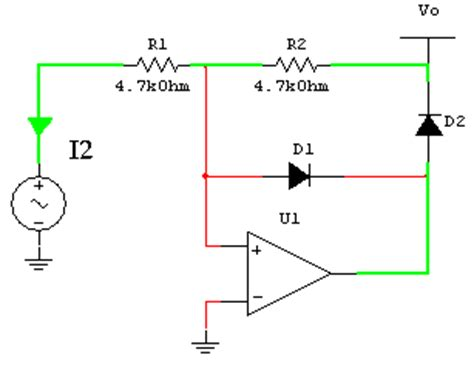 electronics technology  wave precision rectifiers circuit