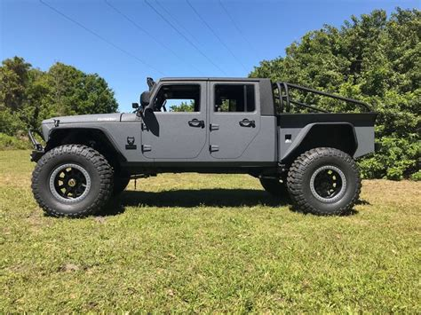 Jeep Wrangler Truck Bed by Build The V8 Jeep Truck Of Your Dreams Gearjunkie