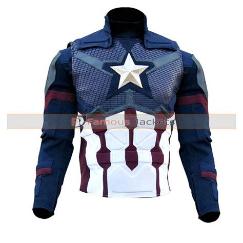 captain america chris evans avengers endgame leather