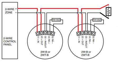 how do i wire a 2w b alarm grid