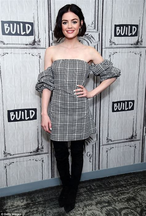 Lucy Hale discusses Pretty Little Liars at New York event ...