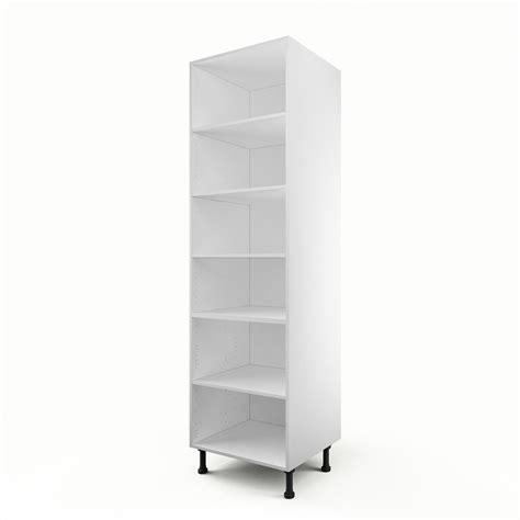 meuble colonne de cuisine caisson de cuisine colonne c60 200 delinia blanc l 60 x h