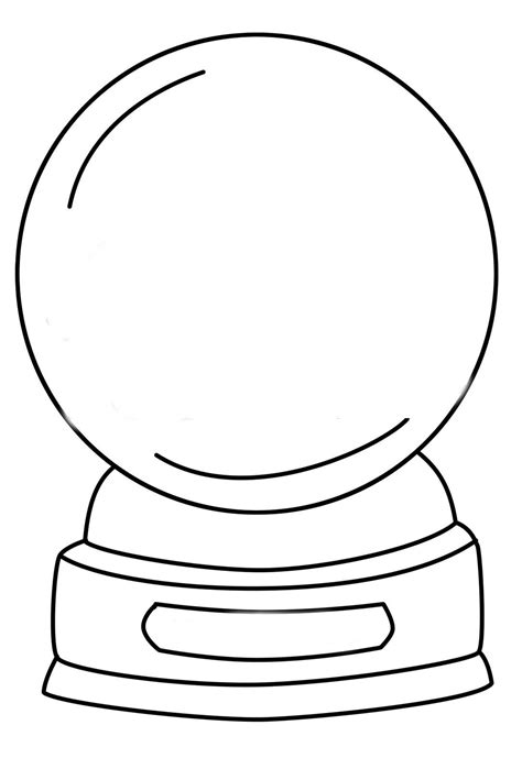 snow globe template snow globes coloring pages sketch coloring page