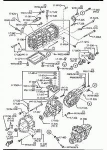 1999 Mazda B2500 Transmission Diagram