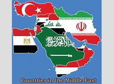 What Countries are in the Middle East List of Middle