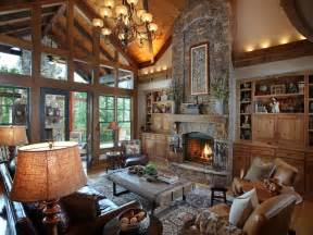 vaulted ceiling house plans rustic great room with built in bookshelf by joe folsom zillow digs zillow