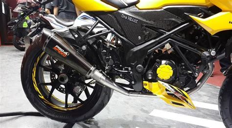 single seater cover jok belakang honda new cb150r facelift black doff modifikasi all new cb150r fighter kaki kaki gambot