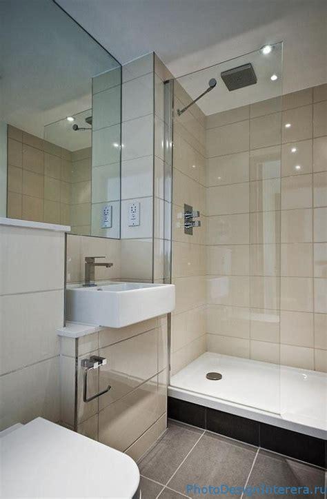 Дизайн ванной комнаты с душевой кабиной фото Дизайн