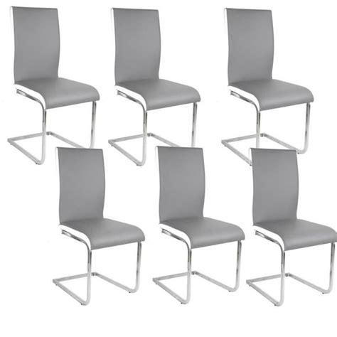 chaise pas cher par 6 chaise de cuisine blanche pas cher maison design bahbe com
