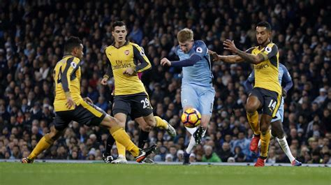 Kevin De Bruyne's game by numbers vs. Arsenal: 100% take ...