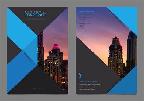 professional elegant corporate flyer template mock