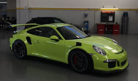 Porsche Gt3 Rs Green by Lime Green Porsche 991 Gt3 Rs Dope Or Nope