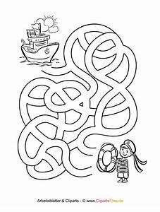 Labyrinth Rtsel Zum Ausdrucken