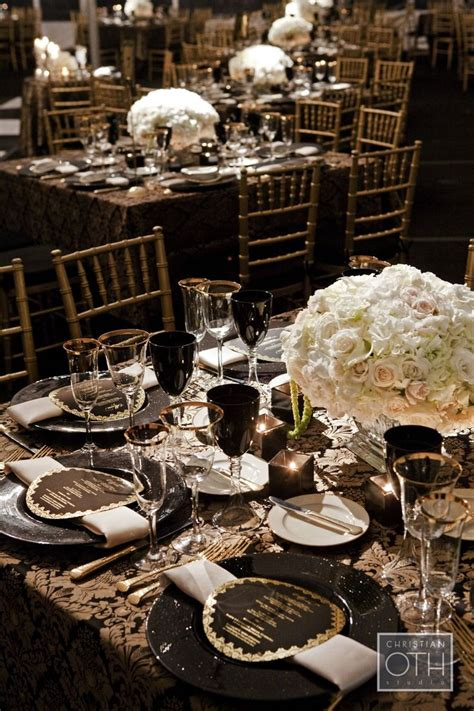 black white and gold centerpieces for wedding 10 best images about table settings on tablecloths tablescapes and centerpieces