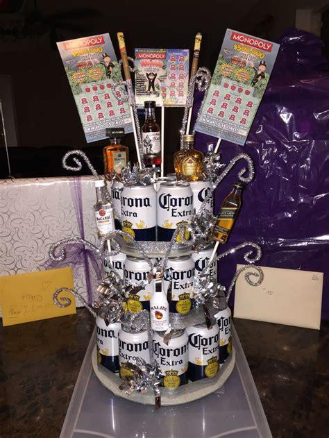 beer cake super easy gift perfect  boyfriend husband