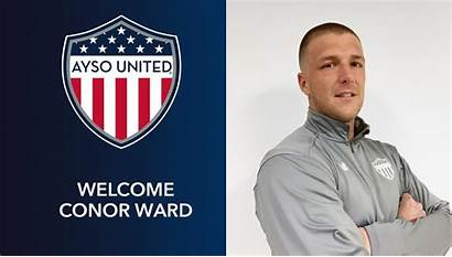 Conor Ayso United Ward Welcomes Coaching Director